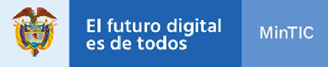 Logo de MinTIC